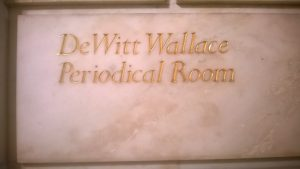 DeWitt Wallace Periodical sign